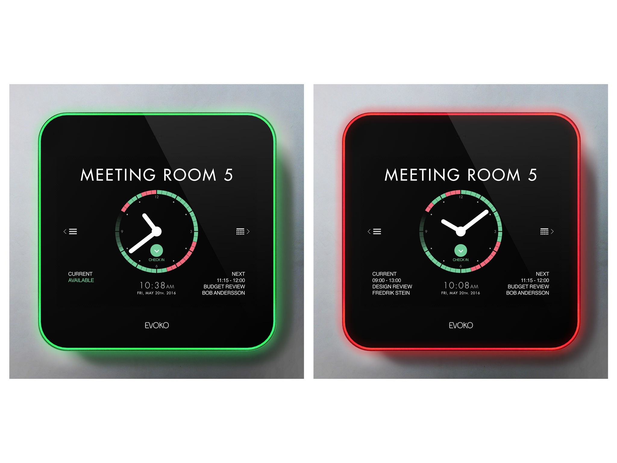 Evoko Liso! The next-generation room booking system