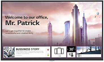 LG 65UH5F-H 65p UHD Signage IPS 16:9 4K-500cd2 500000:1 60Hz 8ms 24h/7j HDMI 1/2/3/DVI/DP/OPS webOS 4.1 Portrait & Landscape