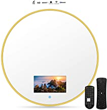 Smart Touch Bathroom TV, Smart Mirror Waterproof TV 40/60cm With Wi-Fi, Integrated Speakers(Android 10.0), Online On-demand, Live Broadcast, Can Play Games, With WIFI, Support Bluetooth,40*40cm