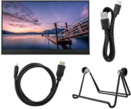 Socobeta Portable Monitor HD Screen Display Support Various External Devices