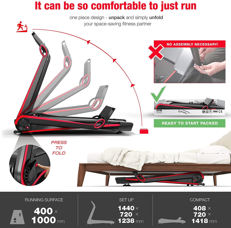 Sportstech F10 treadmill vs f17 treadmill